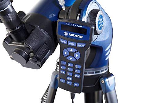 Meade Instruments 218005 StarNavigator NG 90 Maksutov-Cassegrain - Telescopio, Color Negro