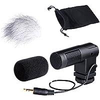 Minimicrofono video Movo Photo VXR260 X/Y a condensatore, stereo, per videocamere e fotocamere reflex digitali