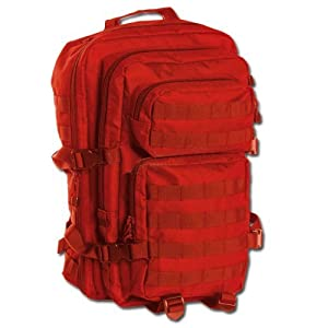 Mil-Tec US Assault Pack Backpack (Large/Signalrot)