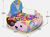 Fligatto Piscine Balles pour Enfants Tente de Jeu BB Portable Baby Ocan Boule Piscine...