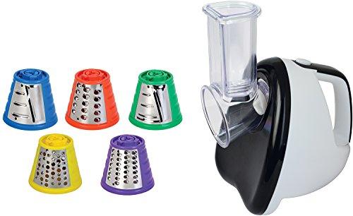 SHEFFIELD CLASSIC 99 220-Watt Electric Slicer (White & Black)