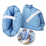 HZYWL Heel Cushion Protector Pillow Anti-Bedsore Cotton Breathable Heel Cushions Pressure-Relieving Heel Protector Heel Protection 2 Pair Blue