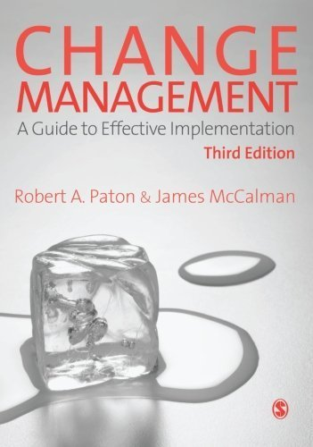 Read PDF Change Management: A Guide to Effective