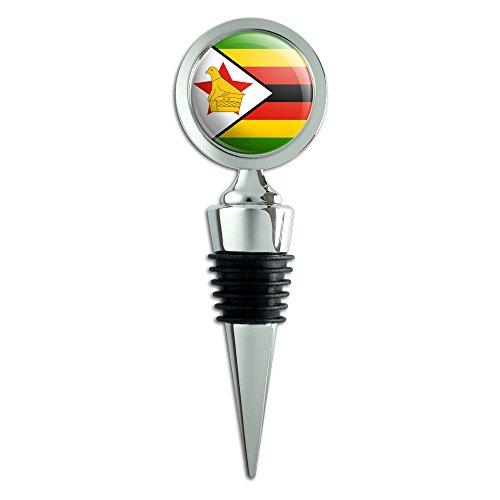 Preisvergleich Produktbild Simbabwe National Land Flagge Wein Flasche Stopper