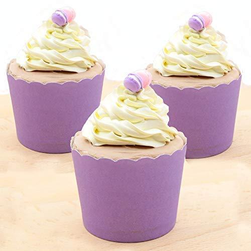 60 ps Cupcake-Wrapper für Kindergeburtstage, Baby-Duschen, Zirkus-Themenpartys und Schulveranstaltungen.