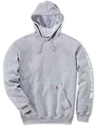 11ccbe856999c Carhartt Midweight Signature Sleeve Sweat-shirt à capuche Logo – Pull à  capuche (XL