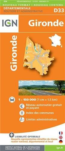 Gironde dép 33 (Ign Map) par Institut Géographique National