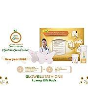 Glow Glutathione L-Glutathione - 500mg + Vitamin C- 1000mg