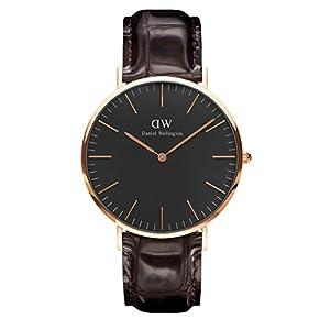Daniel Wellington Classic York – Reloj de Pulsera para Hombre (Piel,