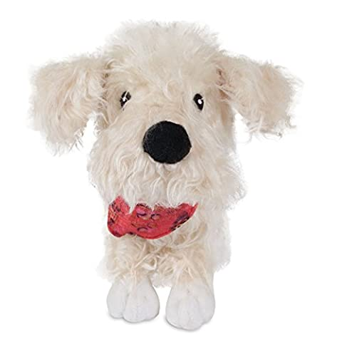 MuttNation Rescue Mutt Soft Plush Outdoor Indoor Play Hard Dog Fun Toy Delilah