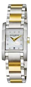 Baume & Mercier Women'S 8738 Diamant Two Tone Watch
