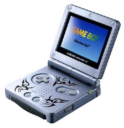 Game Boy Advance SP - Konsole