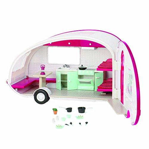 Lori- Caravana Roller Glamper, Color Rosa (LO37011Z)