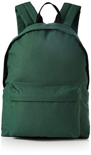 BagBase Mochila Moda 20 Colores Grandes. Botella Verde