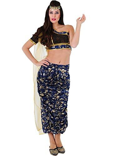 Kostüm Princesa Hindu-Rina (Indienne D'halloween Kostüm)