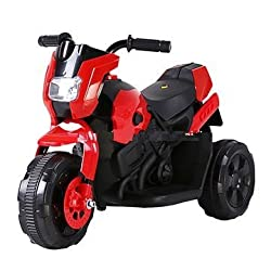 Baybee Mini BWM Racing Battery Operated Sports Bike (Black)