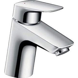 41PGDLboEuL. SS324  - Hansgrohe scarub0695cr HG. My Cube M 71010000grifo lavabo