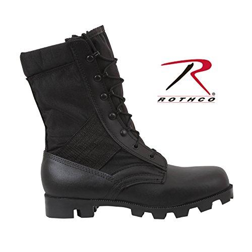 Rothco 22,9cm Speedlace Jungle Kofferraum, Herren, 50909, Schwarz, 9 M US Gi Style Jungle Boots