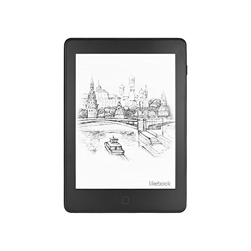 Aibecy Likebook Air Liseuse Ebook Reader avec 6 '' E-Ink écran tactile Wi-Fi BT Fonction Android System