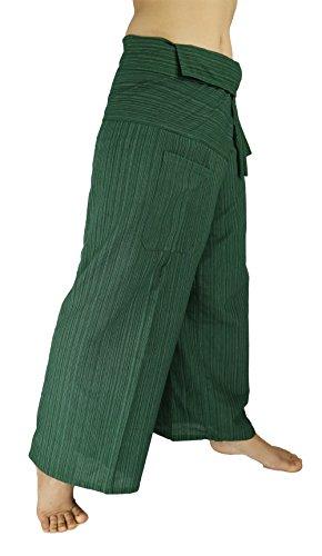 Miss Arika Herren Hose Schwarz schwarz one size Gr. one size, meergrün (Plus Size Jump Suit)