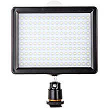 Andoer 12W 1280LM Dimmerabile 160 LED Panel Lampada per Canon Nikon Pentax DSLR Video Camcorder
