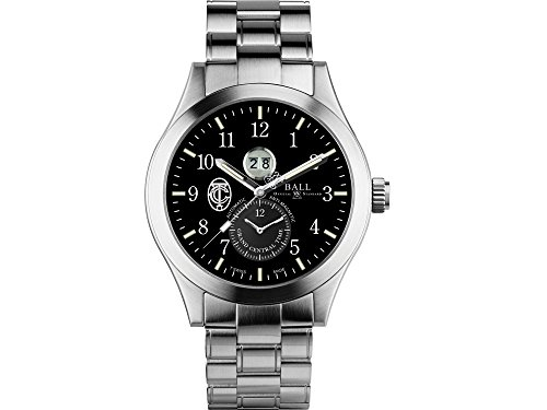 Ball Engineer Master II GCT Watch, Black, Steel bracelet, Limited Edition