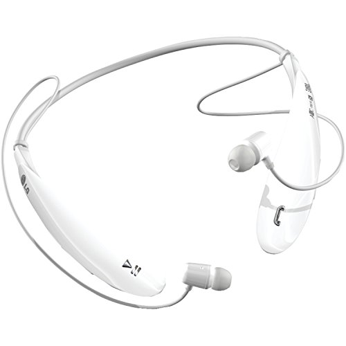 Lg electronics tone ultra (hbs-800) auricolari stereo bluetooth, colore bianco