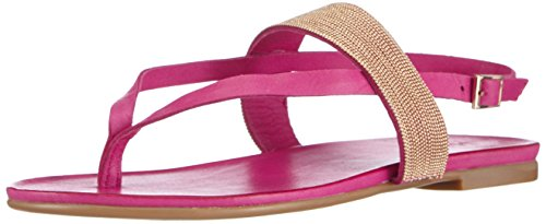 Inuovo CANNES, Infradito donna, Rosa (Pink (FUXIA LEATHER)), 39