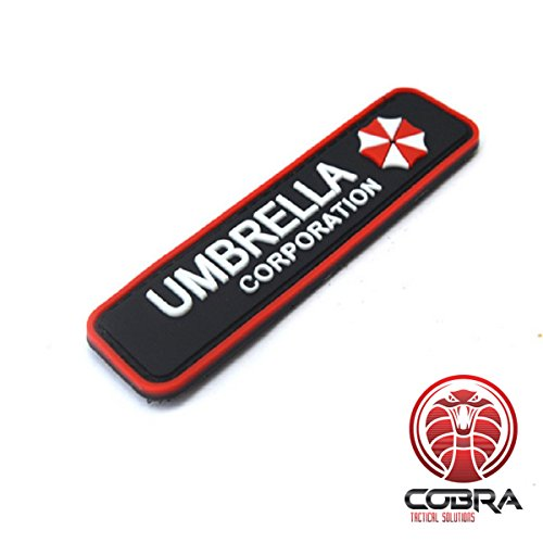 3D PVC Patch Umbrella Corporation Logo - Resident -