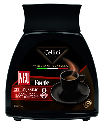 Cellini Instant-Espresso Forte Glas, 4er Pack (4 x 100 g)