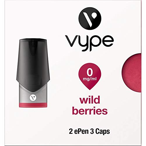 Vype ePen 3 Caps Wild Berries 0mg - Caps ohne Nikotin