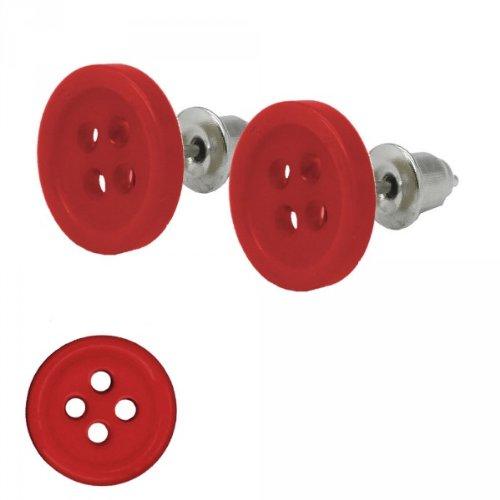 1paar-ohrstecker-ohrring-ohrringe-knopf-knopfe-rot-weiss-schwarz-retro-rockabilly-farberot
