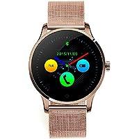 Haihuic Bluetooth inteligente reloj impermeable del deporte del sueño K88H monitor podómetro Muñequera ...