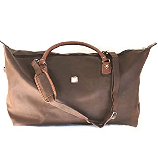 Bolsa de viaje 'Gabol'marrón (73x22x21.5 cm).