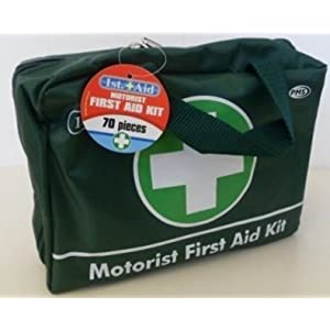 41PGJigD9vL. SS300  - PMS DELUXE 70PCE 1ST AID MEDICAL KIT-FOR THE CAR
