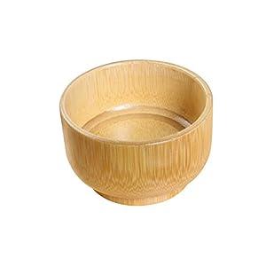 ULTNICE Rasierschale Holz Schale für Rasierseifen