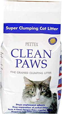 Pettex Clean Paws Super Clumping Ultra Cat Litter 15 kg