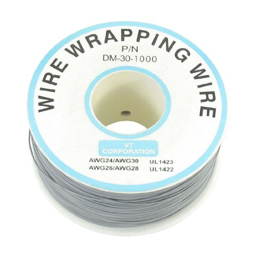 Jtag Jig (P/N dm-30–1000 grau Isolierte PVC-beschichtetes 30 AWG Wire Wrapping Drähte Reel 820 ft)