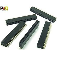10 x Buchsenleiste 20 Pin einreihig RM 2,54mm