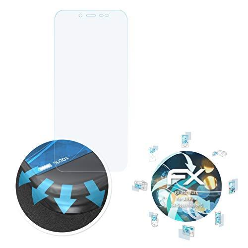 atFolix Schutzfolie passend für Allview X4 Soul Infinity S Folie, ultraklare & Flexible FX Bildschirmschutzfolie (3X)