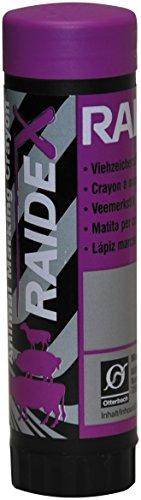 RAIDEX GMBH - Crayon à marquer RAIDEX étui plastique Violet - Boîte de 10