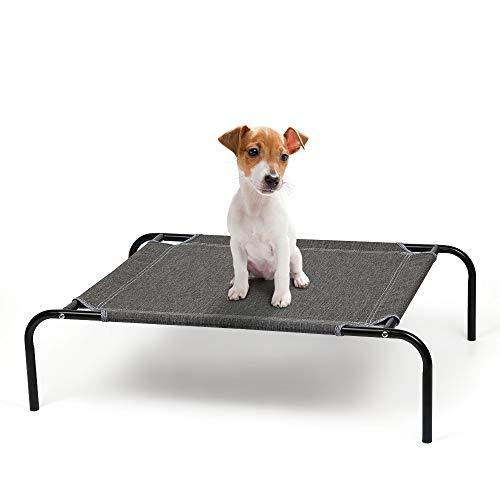 Neala Erhöhtes Hundebett, tragbar, atmungsaktiv, mit Kühlnetz, für kleine Hunde und Katzen, wasserdicht, robust, wärmendes Haustierbett für drinnen und draußen, als Geschenk