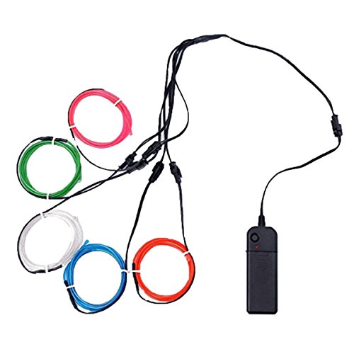 Light Stick Kostüm - ledmomo El Wire Neon Kabel Licht