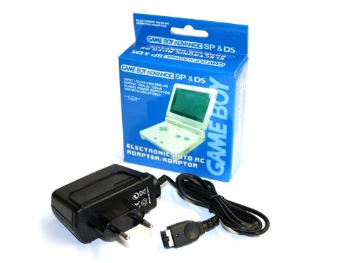 Cargador para Game Boy Advance SP - Adaptador AC [Game Boy] [Importación Italiana]