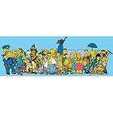 Educa - 1000 pièces panoramique - Les amis des Simpsons