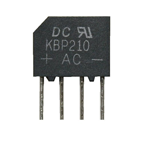 Brückengleichrichter Gleichrichter KBP210 1000V 2A (0019) (2a Brückengleichrichter)