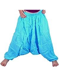 Sarouel 4/5 Ans Enfant Pantalon Ethnique Harem pant children fille garçon bleu turquoise