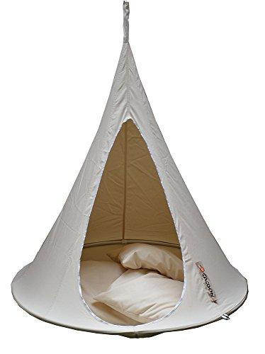 Cacoon, Poltrona sospesa per bambini, portata max. 150 kg, colore: Bianco