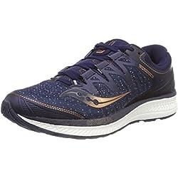 Saucony Triumph ISO 4, Zapatillas de Running para Hombre, Azul (Navy/Denim/Copper 30), 41 EU