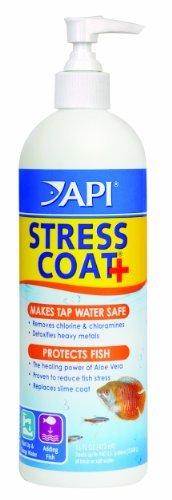 API Stress Coat 473ml Easy to Use Pump Dispenser by AQUARIUM PHARMACEUTICALS (Pharmaceuticals Aquarium Api)